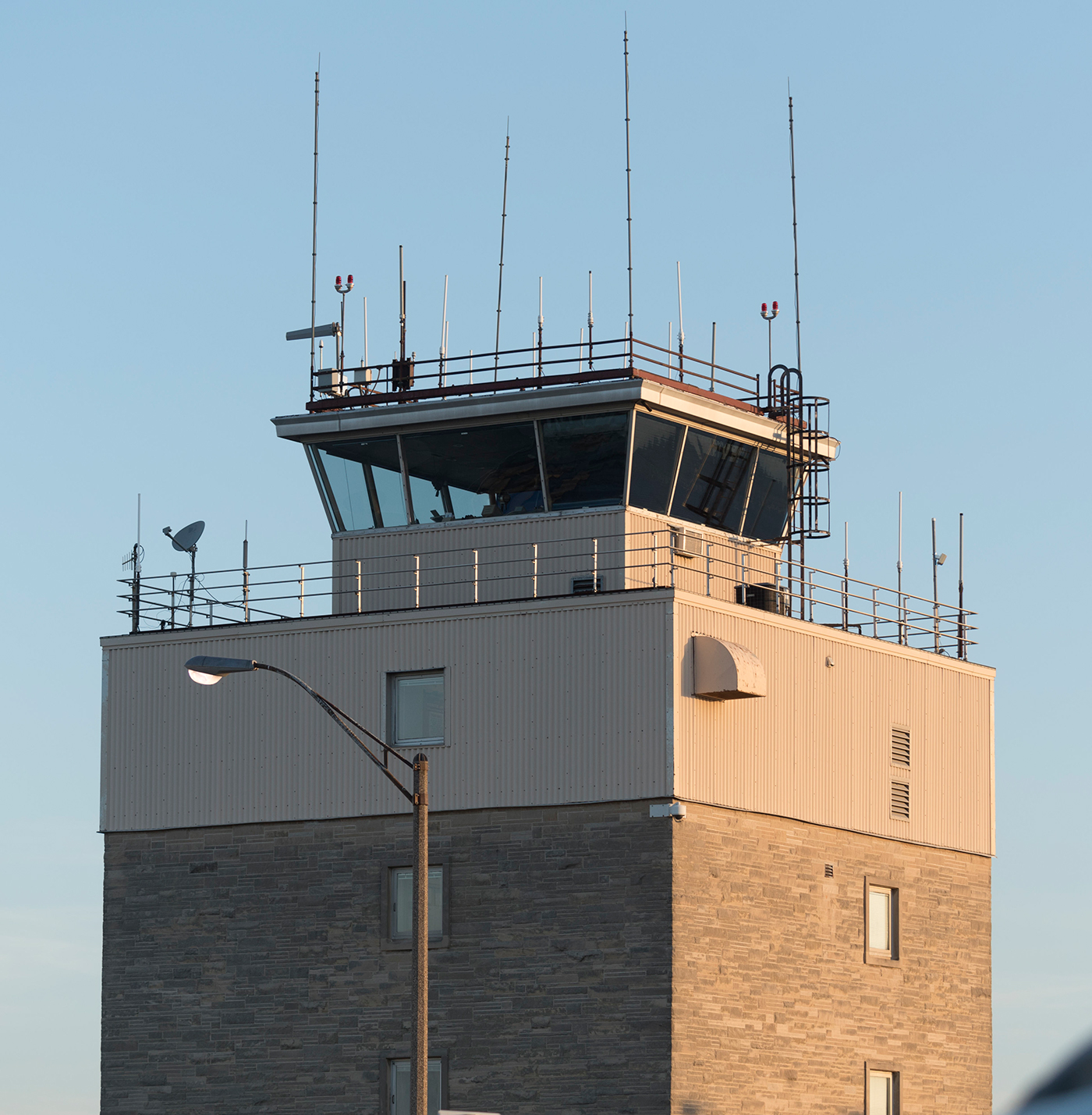 control tower at Willard Airport